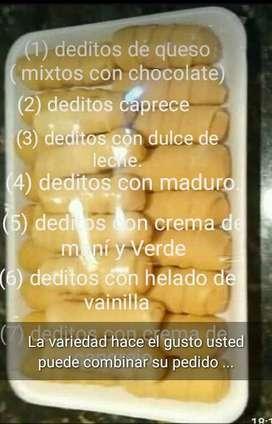 Deditos de queso al mayor y detal ( tequeños )