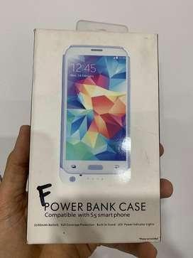 Power Bank Case para Samsung S5