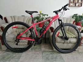 Bicicleta gw titan nueva rin 29