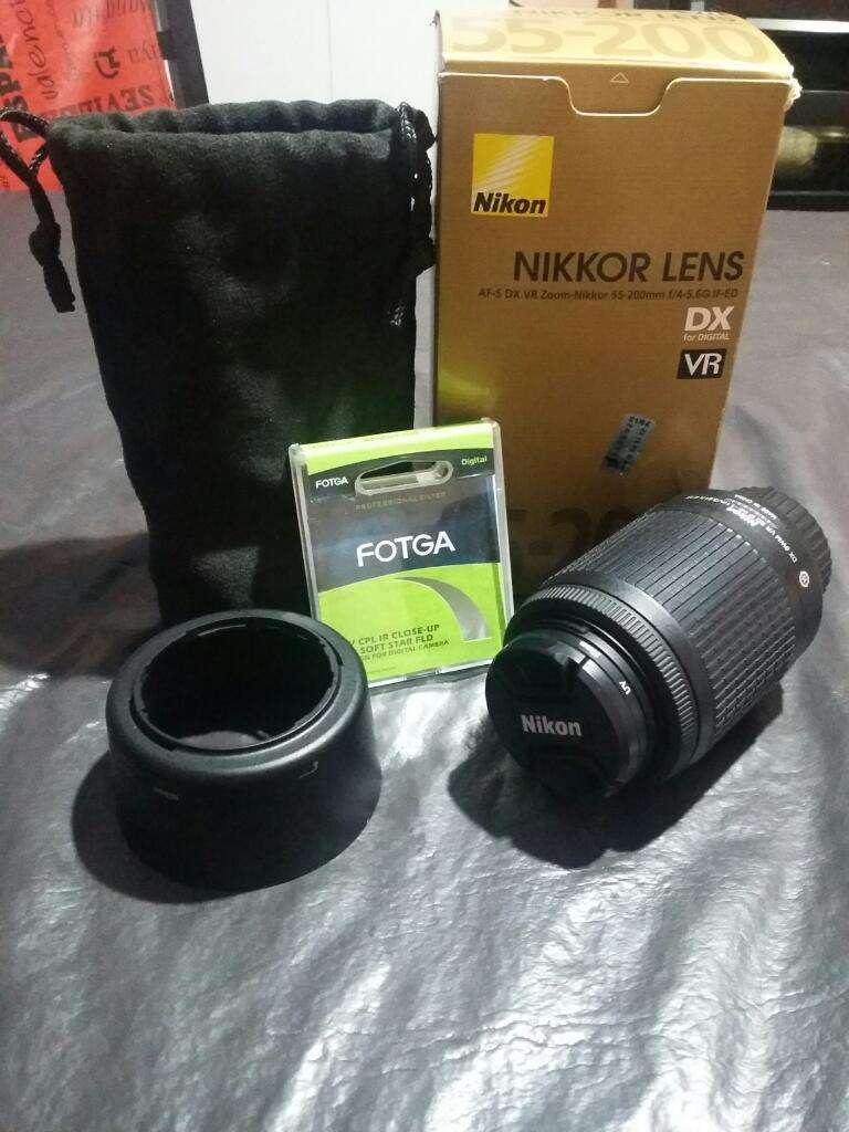 OFERTOON! Lente Nikon 55 200 0
