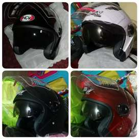 Casco chopper casco abierto doble visor casco para Moto oferto