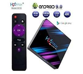 Smart Tv H96Max Decodificador