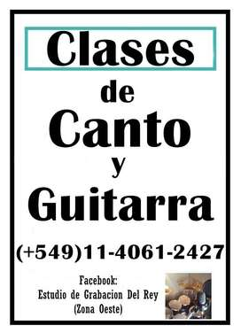 COACH VOCAL CLASES DE CANTO Y GUITARRA EN ZONA OESTE TECNICA ABSOLUTA 5491140612427