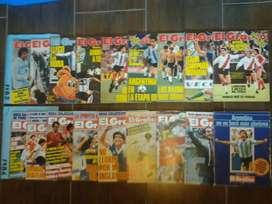 Colección Revistas El Gráfico - Mundial de fútbol (1950-2014)