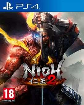 Juego PS4 NIOH 2 nuevo!