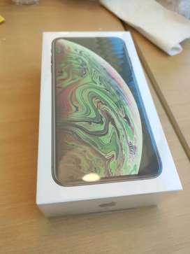 iPhone xs máx nuevo en caja sellada