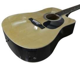 Guitarra Electroacústica Orich con todo