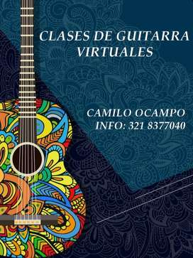 Clases de Guitarra Virtuales