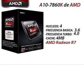Combo AMD A10 7860K + Monther+Ram