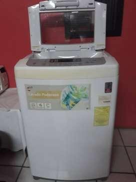 lavadora LG turbo drum 16kg