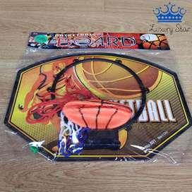 Cancha Baloncesto Tablero Kit Basketball Pared Balon