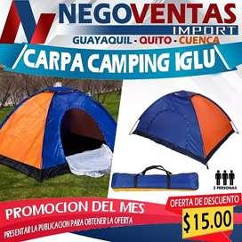 Carpas camping tienda de acampar