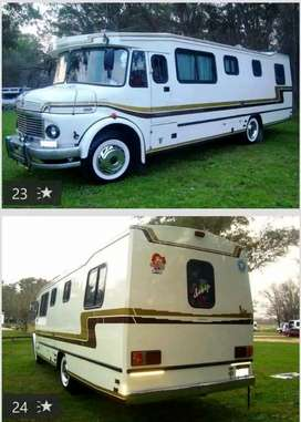 Vendo motorhome impecable