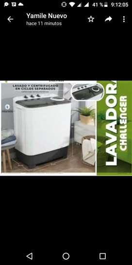 Lavadora Challenger 15 lb nueva
