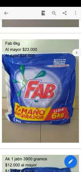 Jabón FAV de 6KG