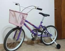 Bicicleta Remington para niña