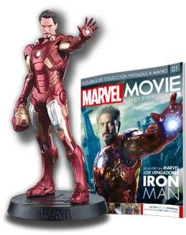 Figura Iron Man Colección Marvel oficial