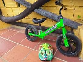 Bicicleta de balance para niños
