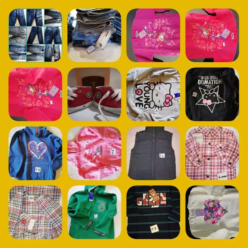 Vendo lote de ropa de niño 0
