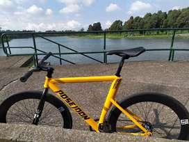 Bicicleta fixie POSEIDÓN (freno coaster) NEGOCIABLES