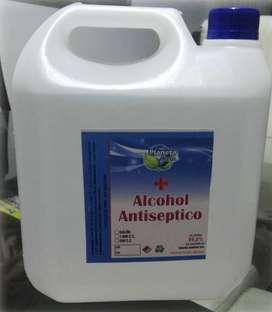 Alcohol antiseptico