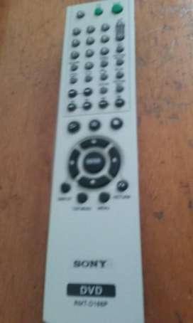 CONTROL REMOTO DVD SONY
