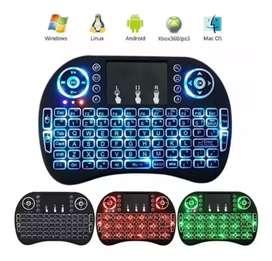 Mini Teclado Mouse Táctil Inalámbrico Ilumidado Smart Tv Xbox Tablets PC. (ENVÍO GRATIS)