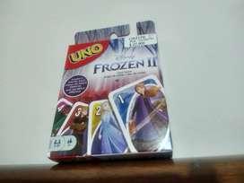 UNO juego de cartas Frozen 2 edition