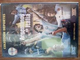 Argentinos En Italia -Maradona, Batistuta, Zanetti, Crespo, Simeone y Veron - Dvd