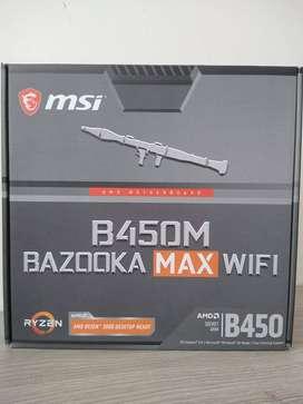 POTENTE BOARD MSI B450M BAZOOKA MAbX WIFI
