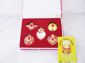 caja broches anime sailor moon