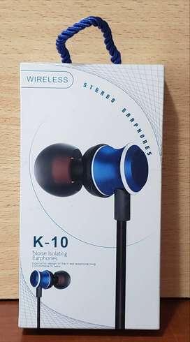 Auricular Manos libres Inalambrico BLUETOOTH control multimedia