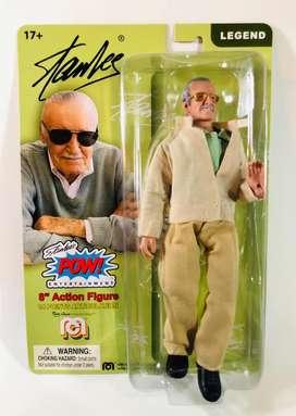 Figura de Stan Lee creador de Marvel