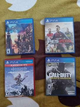 Juegos PS4 70.000