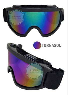Gafas Polarisadas Motocross Downhill Bmx Mtb Racing Casco