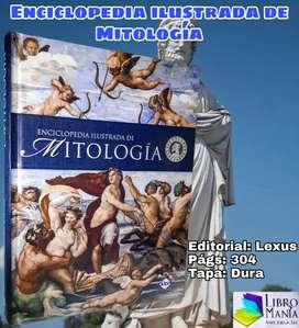 Enciclopedia ilustrada de la mitología. Lexus tapa dura