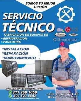 Relación y mantenimiento lavadoras neveras
