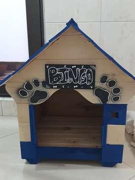 NUEVA: Casa Para Perros (40x40cm) en madera
