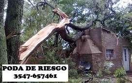 PODA DE RIESGO
