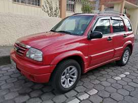 Automóvil Chevrolet/Grand Vitara rojo 2016