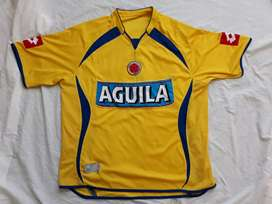 Camiseta seleccion colombia lotto original talla L