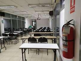Alquiler de aulas para capacitación