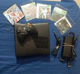 Xbox 360 Slim full estado p@rch3 3