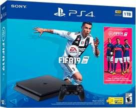 Play Station 4 Slim 1Tb + Audifonos Gamer