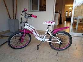 Bicicleta rodado 20 FOXTER, impecable