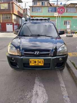 Hyundai Tucson 2006 4×2 145.000 km buen estado listo para traspaso