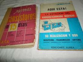 2 DOS LIBROS DE ELECTRONICA