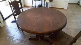 PROMOCION mesa y sillas de algarrobo!