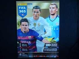 Álbum Panini Fifa 365 2016 incompleto