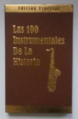 COLECCIÓN DE 4 CDS LAS 100 INSTRUMENTALES DE LA HISTORIA